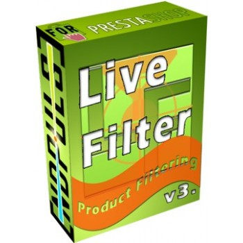 Prestashop Modules - Live Filter PRO